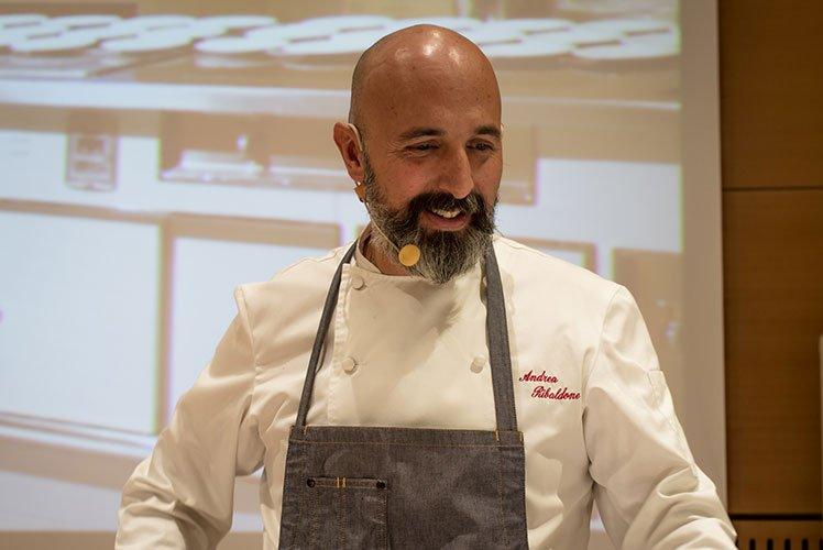 Chef Andrea Ribaldone