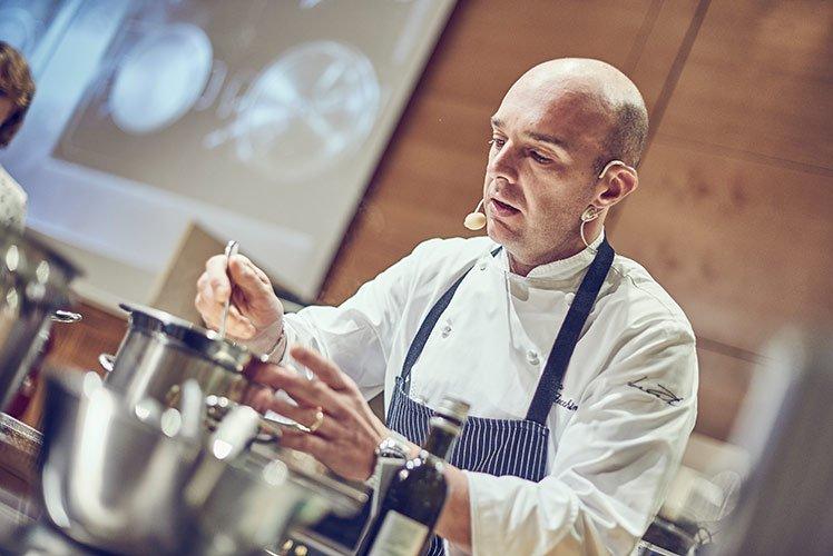 Chef Luca Zecchin
