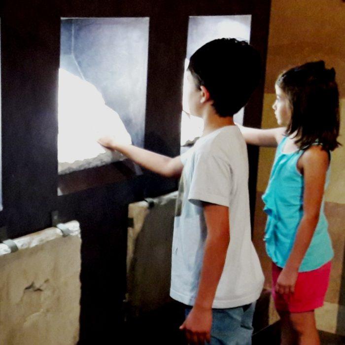 Gioco dell'oca. Divertimento nelle sale del museo